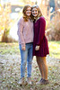 Lindsay & Lily (DT's Photo Site - Anderson S.C.) Tags: canon 6d 135mmf2l lens girls teen ager young cousins family kin autumn colors november thanksgiving south carolina lexingtonsc colorful youth bokeh blur southern grandkids jeans