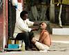 Kolkata (Time to try) Tags: olympus em1mk2 hinduism kolkata faith portrait cutthorat razor india explore mft