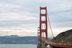 The Bridge (Florencia Baccino) Tags: goldengate goldengatebridge sanfrancisco usa unitedstates nikon nikond5100 colours city landscape clouds california bridge