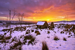 """The Way It Was Back Then"" (Gareth Wray - 10 Million Views, Thank You) Tags: old abandoned house cottage famine winter snow snowing quadcopter northern ireland ulster ni uk scenic landscape sperrins sperrin county tyrone gareth wray photography strabane nikon nikkor sky spring sun plumbridge traditional set tourist tourism site visit countryside country side scape grass frosty british sunset irish colourful ballentine hills photographer home vacation holiday europe farm homestead stead rise plumb outdoor field d5300 1024mm"