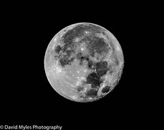 Super Moon (mylesfox) Tags: super moon craters