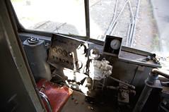 Fahrerstand des Kinki/Sharyo-Wagens 1006 (Frederik Buchleitner) Tags: 6009 6010 cta cairotransportauthority heliopolis kairo kinki linie36 misr miṣraldschadīda sharyo strasenbahn streetcar tram trambahn alqāhira ägypten القاهرة مصر مصرالجديدة