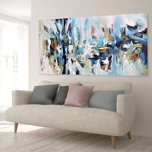 Caught In Silence ✨ A large original abstract painting, currently available. Click on the link in my bio, or Direct Message me if interested. #newart #originalart #landscapepainting #paintings #abstractart #london #abstract #art #artideas #wallar