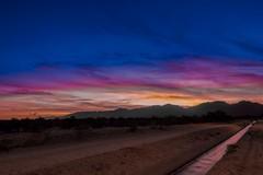 Sunset Juice (nealsummerton1) Tags: arizona az surprise whitetankmountains nikon d500 tokina 1116mm desert sunset clouds canal water