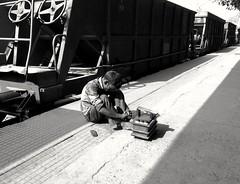 Street Frame (Chiradeep.) Tags: streetphotography streetcapture streetcandid streetframe streetshot blackwhite blackandwhite monochrome monotone bw bnw candidcapture candidstreet candidmoments railstation railwaystation railwayplatform calcutta kolkata westbengal india mobilephotography androidphotography smartphonephotography huawei honor5c