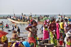 The hustle-bustle of Tanji fishing village in the Gambia! (Nina_Ali) Tags: tanji gambia fishing africa beach peopleoftheworld travelphotography afrique westafrica