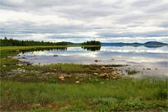 on the way (atsjebosma) Tags: reflections clouds meer bomen lucht stenen stones atsjebosma lapland sweden zweden 2017 onderweg ontheway coth5