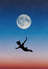 Forever Young (Lightcrafter Artistry) Tags: peterpan photoshop moon art flying
