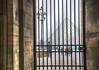 old walls (albyn.davis) Tags: louvre paris france europe building walls gate pyramid pei lamp people travel misty streetlamp museum