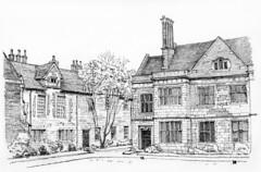King's Manor, York: North range and Principal's House