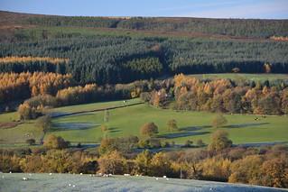 Frosty Start, Goyt Valley, Peak District National Park, Derbyshire, England.