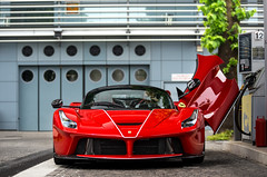 Impressive.. (David Clemente Photography) Tags: ferrari ferrarilaferrari laferrari laferrariaperta ferrarilaferrariaperta redlaferrari autodromomonza ferrarichallenge v12 cars sup hypercars hybridhypercar italianhypercars aperta carspotting nikonphotography
