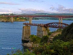 Ria de Ribadeo (josé luis Zueras) Tags: ribadeo galicia lugo españa ría mar oceano puentedelossantos ocargadeiro joséluiszueras olympuse500