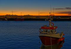 Fishing boat Shamarnic at Dawn.. (alan.irons) Tags: harbour fishing boats water seawall moored mooring dawn crackofdawn arbroath angus morning autumn nov2017 eos5dmkiv ef2470f28llusm canon haven port protection safety scotland scottish