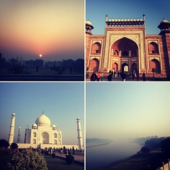 Sights of Taj Mahal