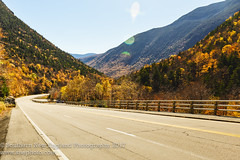 Crawford Notch Highway (Southern New England Photography) Tags: rock autumn foliage tree northamerica fall whitemountains mountains newhampshire parks unitedstates crawfordnotch hartslocation newengland nh rocky us