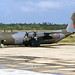 XV193, Lockheed C-130K Hercules C.3P, (4213), RAF, LTW, Belize City (BZE), 14/08/1991