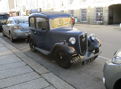1935 Austin 7 Ruby (occama) Tags: bkx41 austin 7 seven 1935 ruby old car british cornwall uk
