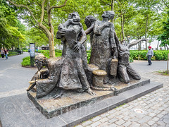 The Immigrants Sculpture (1973) by Luis Sanguino, Battery Park, New York City (jag9889) Tags: 2017 20170617 art artwork batterypark hdr highdynamicrange immigrants kunst lowermanhattan manhattan monument ny nyc newyork newyorkcity outdoor plastik sculpture skulptur statue tree usa unitedstates unitedstatesofamerica jag9889