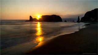 Bandon-Beach-Sunset