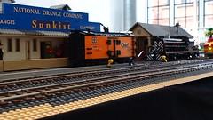 Santa Fe Super Chief (Engineering with ABS) Tags: lego santafe train railroad superchief alco pa pb
