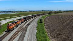 BNSF 6093 ~ BC Rail Port Sub (Chris City) Tags: train railway railroad coal bnsf bcrail delta