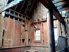 The Tack Room (Darren-) Tags: abandoned building barn color demolish despair gross house irregular longislandny light newyork timber usa decay cold spring harbor