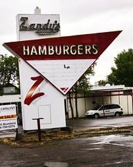 Zandy's (Grumpy D. Wharf) Tags: purple montana hamburger fries drive root beer eat neon signs