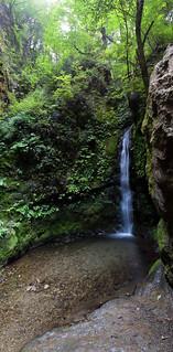七代の滝 - Nanayono Falls (panorama)