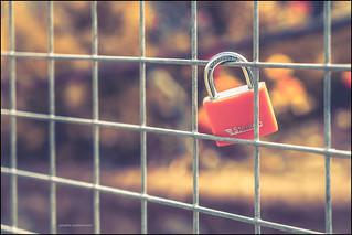 Solitary love lock