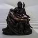Miguel Ángel Buonarroti's Pietà bronze replica at Museo Soumaya
