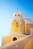 Catholic Church of Saint Stylianos, Firostefani, Santorini, Greece (fesign) Tags: architecturalfeature bell belltower christianity church cross cycladesislands europe famousplace firá greece greekculture island nopeople outdoors placeofworship religion santorini sea spirituality three travel water