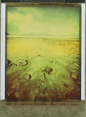 Laig Bay (Mark Rowell) Tags: eigg laigbay rum smallisles scotland pinhole zero45 zeroimage polaroid type79 4x5 5x4 largeformat instant expired film