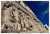 trieste l'universita' (Giorgio Serodine) Tags: universita trieste pietra marmo raffigurazione scultura ciela palazzo dalbasso grandangolo canon