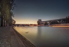 Golden Louvre (Sizun Eye) Tags: golden hour louvre seine river pontroyal bridge le longexposure paris france quai sizuneye nikond750 nikon nikkor1424mmf28 nikon1424mmf28 1424mm leefilters nisifilters vüfilters city cityscape dusk twilight