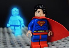 Doomsday Clock (MrKjito) Tags: lego super hero minifig watchmen dc comics comic doomsday clock doctor manhattan superman rebirh univers issue 1 out 12 geoff johns