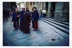 IMG_9217 (Bruno Meyer Photography) Tags: summarit lifein35mm 35mm firenze florence visitfirenze toscana toscane tuscany italia iloveitalia galleriedesoffices uffizi museum architecture history culture art people streetphotography streetlife travel travelphotography god law monks carabinieri uniforms leica leicaimages leicacamera leicam240 leicam leicacamerafrance leicaworld raw edit roadtrip vacanze dolcevita