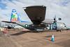 4153 / Pakistan Air Force / Lockheed C-130E Hercules (Charles Cunliffe) Tags: canon7dmkii aviation raffairford egva ffd pakistanairforce paf lockheedc130hercules c130e 4153