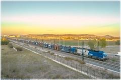 Autos diésel (440_502) Tags: comsa rail transport pecovasa ltf venta de baños valladolid universidad vilar formoso vale da rosa 335 002 vossloh euro 4000