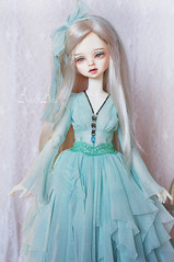 Cold Wind (AyuAna) Tags: bjd ball jointed doll dollfie ayuana design handmade ooak clothing clothes dress set outfit sewing crafting couture fashion slim msd mnf minifee fairyland fantasy romantic style dim dollinmind benetia hybrid withdoll body