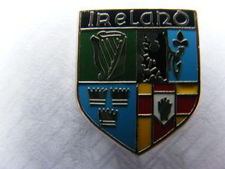 Irish Badges - four Provinces