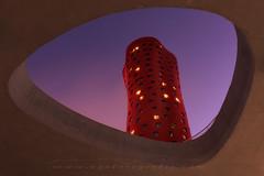 Hotel Porta Fira (sgsierra) Tags: porta fira hotel barcelona arquitectura night noche color nikon d810