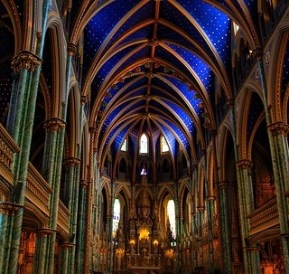 Ottawa Ontario ~ Canada ~ Notre-Dame Cathedral Basilica ~ National Historic Site of Canada - Apse