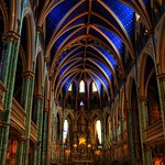 Ottawa Ontario ~ Canada ~ Notre-Dame Cathedral Basilica ~ National Historic Site of Canada - Apse thumbnail