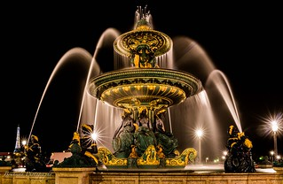 La fontaine des mers - Concorde Paris