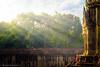 A gate of Angkor Wat (Xversion1) Tags: sunray nature reflection monument lake orange hdr tree jayavarmanvii ray architecture sunlight wall temple suryavarmanii sunrise sunset angkorwat world religion sun woods unesco light sky travel cloud gate landscape heritage siemreap cambodia wonder icon trip