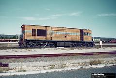 2845 K209 Derailed Forrestfield 1 March 1982 (RailWA) Tags: railwa philmelling westrail 1982 k209 derailed forrestfield