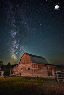 Teton Night Sky