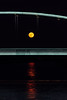 Supermoon through the bridge (Ivan Vranić hvranic) Tags: zagreb croatia bridge hendrix moon supermoon night