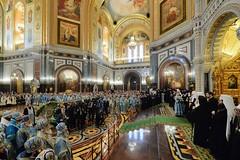 101. Торжественное богослужение в Храме Христа Спасителя 04.12.2017